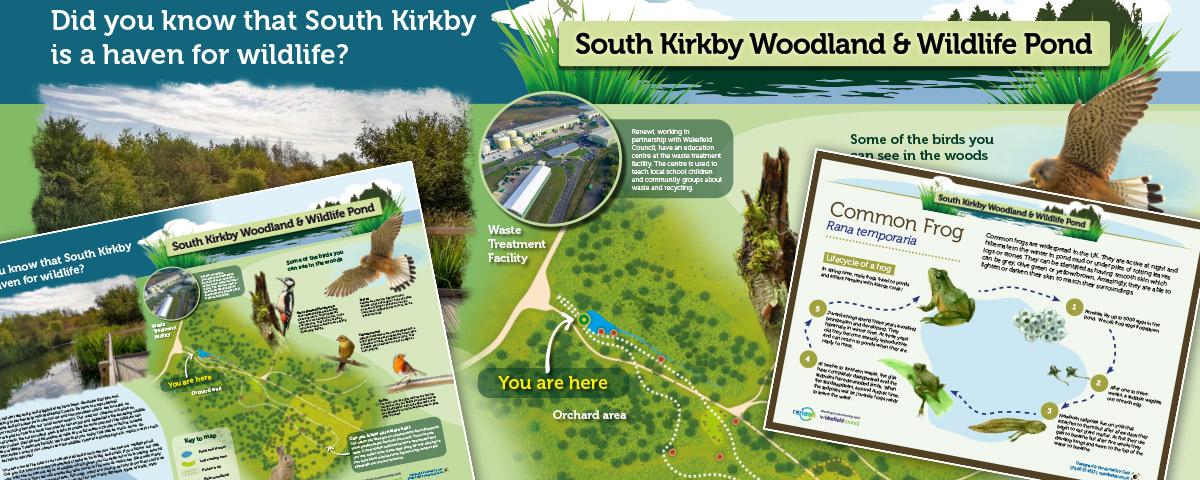 wakerfield renewii wildlife panels