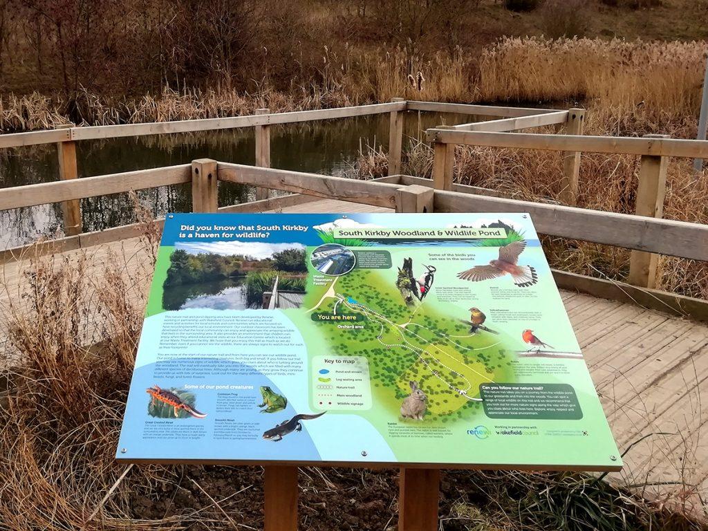 Wakefield wildlife signs