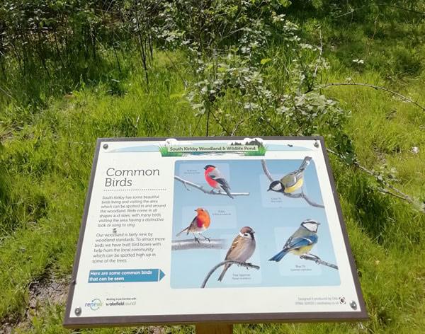 Osis interpretation sign birds